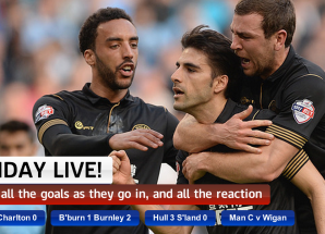 Full Time ya Man City vs Wigan March 9 2014