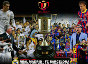 Full Time ya Real Madrid vs Barca, Man city vs Sunderland April 16 2014.