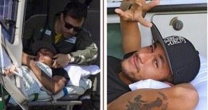 Picha 7 za mchezaji Neymar akisafirishwa na helicopter baada ya kutoka hospitali