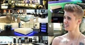 Picha za nyumba mpya ya Justin Bieber yenye night club,gym na movie theater.