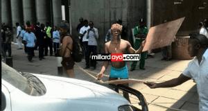 Na hii ni nyingine tena! Wasanii walioandamana nusu uchi Nairobi Kenya