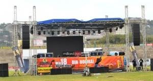 Maandalizi ya mwisho ya Serengeti Fiesta Mwanza 2014.