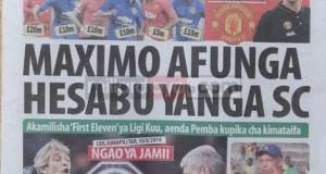 Magazeti ya leo Jumapili August 10 2014
