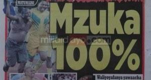 Magazeti ya leo August 11 2014 Udaku, Michezo na Hardnews
