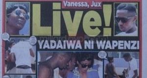 Kurasa za mwanzo na mwisho magazetini leo August 27 2014