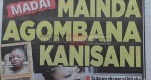 Na haya ndio makubwa yaliyoandikwa na Magazeti ya leo Aug 28 Tanzania