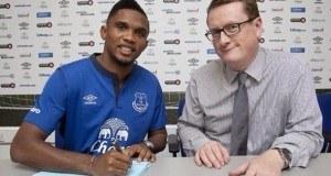 Official: Everton yamsaini Samuel Eto'o lakini kuna kulichomsononesha.