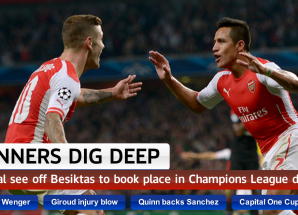 Ulimis kutazama ushindi wa Arsenal vs Besiktas Aug 27? video ziko hapa