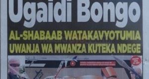 Magazeti ya leo Jumamosi September 27 2014
