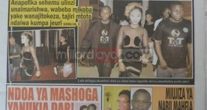 Stori kubwa magazetini leo Sept 3 2014 Udaku, Michezo na Hardnews