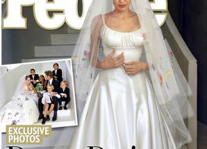 Pichaz nyingine za harusi ya Angelina Jolie na Brad Pitt!