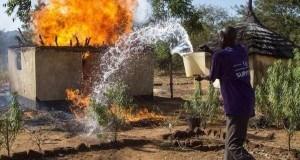 Picha 5 za kilichotokea kwenye mpaka wa Sudan na Uganda. #vurugu