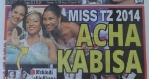 Magazeti ya leo October 13 2014 Udaku, Michezo na Hardnews