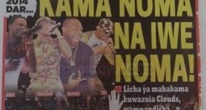 Magazeti ya leo October 20 2014 Udaku, Michezo na Hardnews