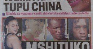 Magazeti ya leo October 23 2014 Udaku, Michezo na Hardnews