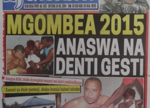 Magazeti ya leo October 24 2014 Udaku, Michezo na Hardnews