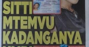 Magazeti ya leo October 25 2014 Udaku, Michezo na Hardnews