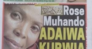 Kurasa za mwanzo na mwisho magazetini leo October 29 2014