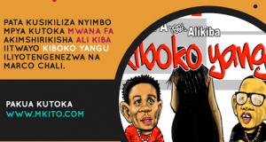 Kolabo ya MwanaFA na Ali Kiba inazidi kuchukua nafasi, ichukue hapa kama ilikupita