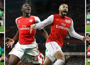 UCL: Welbeck ang'ara, haya ndio matokeo ya Arsenal vs Galatasary
