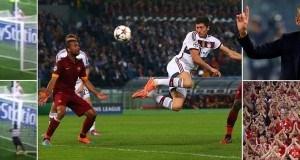 Bayern kama Man U – Angalia walivyoichapa As Roma 7-1