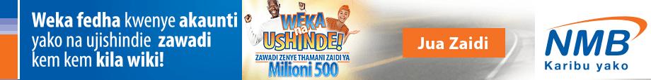 NMB Bank - Weka Ushinde