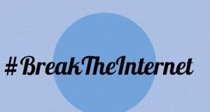 Staa mwingine aliyeingia kwenye trend ya #Breaktheinternet baada ya Kim Kadarshian