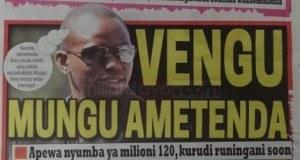 Magazeti ya leo Nov 5 2014 Udaku, Michezo na Hardnews