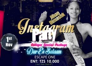 Wakati Weusi wakiwa Arusha,Hii ni hapa Dar usiku wa leo inaitwa Instagram Party.