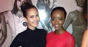 Ni miss Tanzania Happy Watimanywa akiwa London na Mamiss wenzake kwenye hizi picha 9.