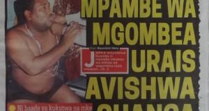 Ziko hapa kurasa za mwanzo na mwisho za Magazeti ya leo December 20,2014